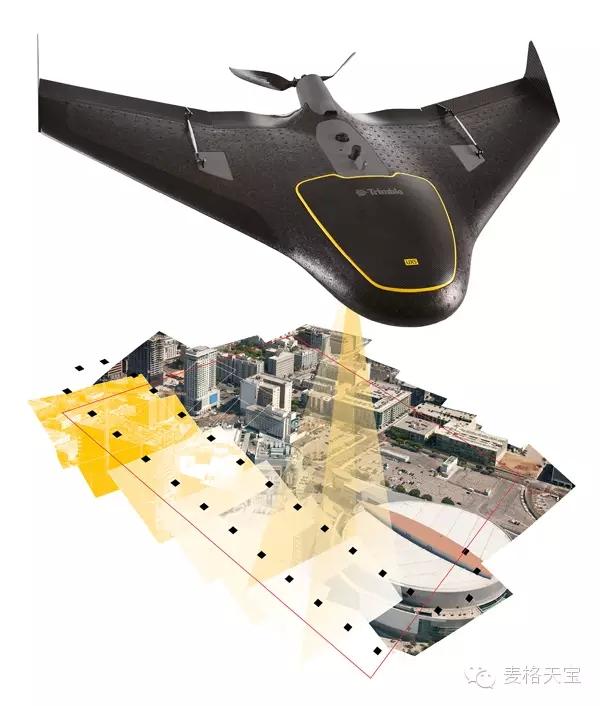 Trimble产品集成的测绘无人机实际应用