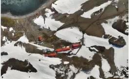 Trimble产品助力南极洲航空影像拍摄(下)