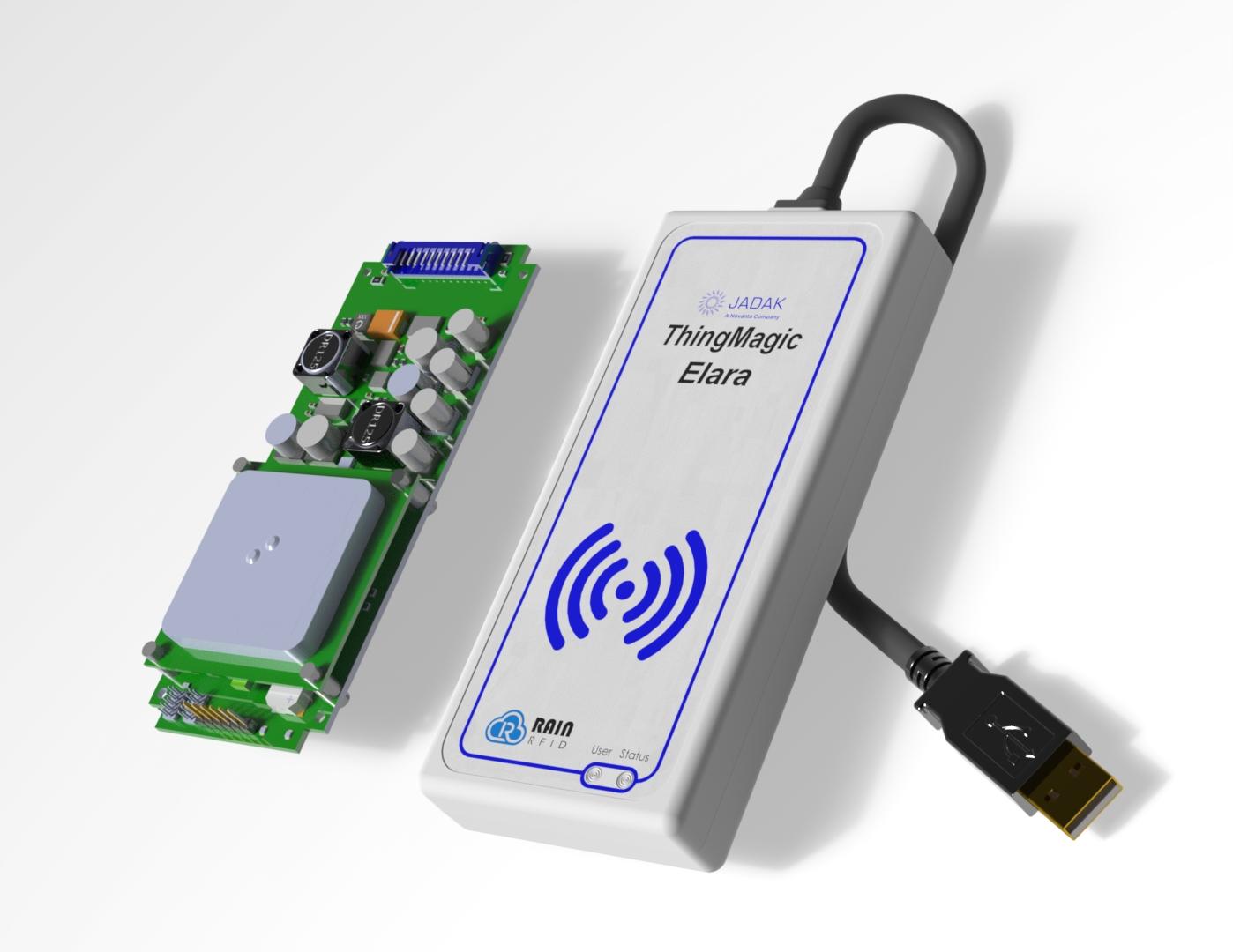 ThingMagic 新产品Elara USB读卡器和EL6e智能模块即将上市