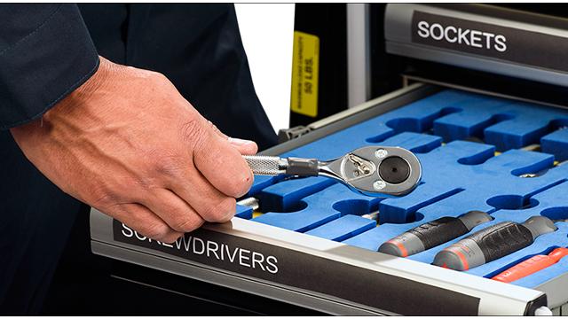 应用于实时RFID工具管理的智能工具柜