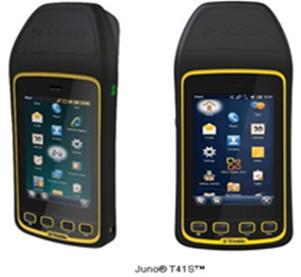 Trimble 紧固型超高频手持设备Juno T41 R