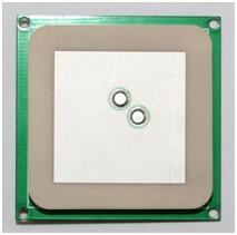 1.5dBi 双馈点 RFID圆极化陶瓷天线35*35*4mmT35404W