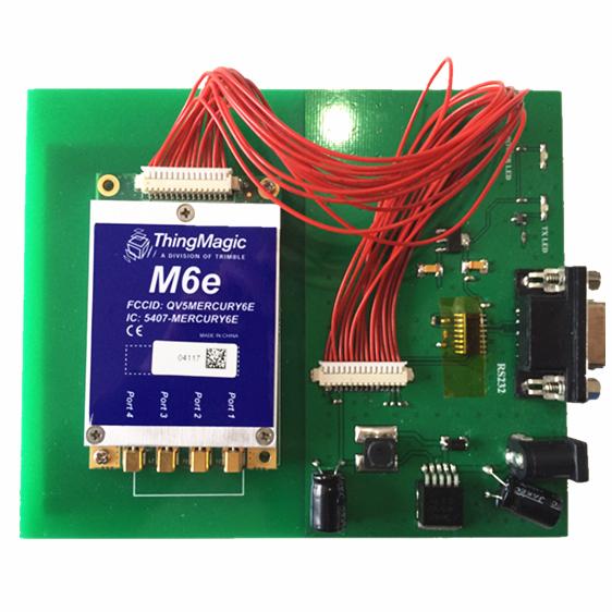 M6e RFID读写器评估演示板