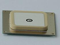RFID单馈点圆极化天线25*25*4mmT25354