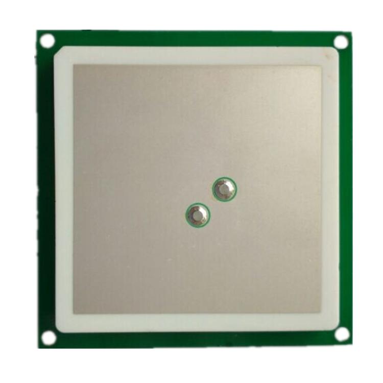 3dBi 双馈点 RFID圆极化陶瓷天线60*60*5mmT62705W