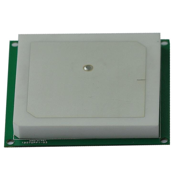 3dBi 单馈点 RFID圆极化陶瓷天线60*60*5mmT62705