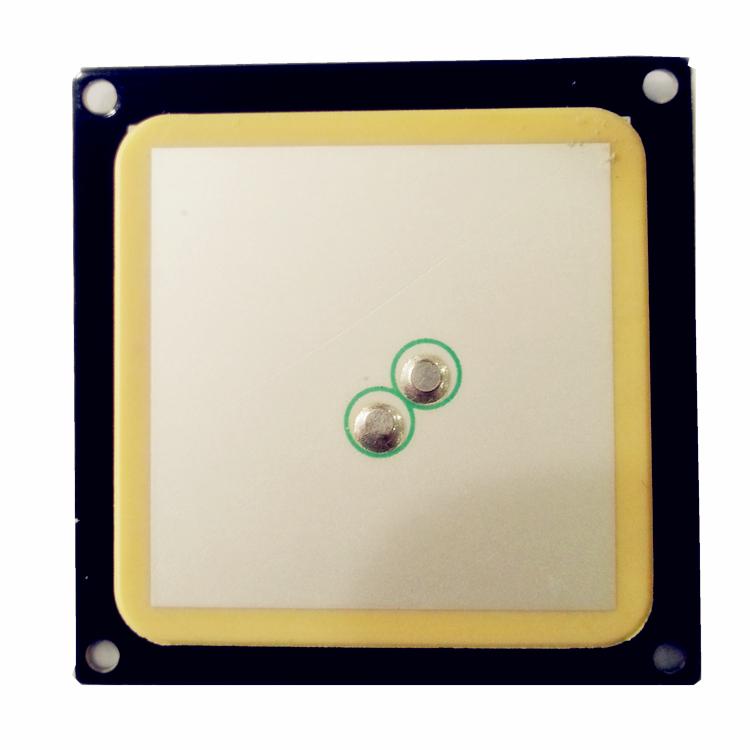 2dBi 双馈点 RFID圆极化陶瓷天线40*40*5mmT40505W