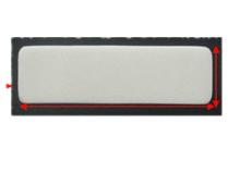 超高频RFID工业洗衣标签(硅胶柔性) P/N: 321V3