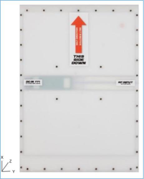 4dbi  超低剖面UHF RFID圆极化天线~A6015