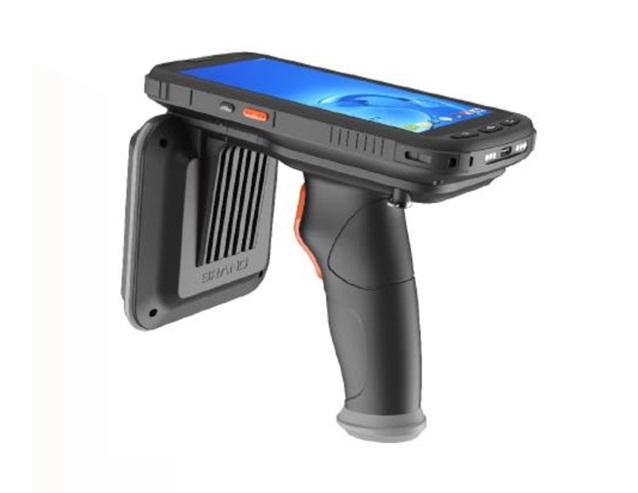 便携式工业级RFID智能手持机 W6100